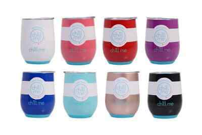 AU16.96 • Buy CHILL ME TUMBLER 350ml Hot Cold Insulated Thermos Water Coffee Travel Mug Cup
