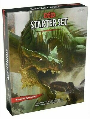 £18.99 • Buy Dungeons & Dragons Starter Set D&D 5th Edition RPG Wizards Of The Coast Basic