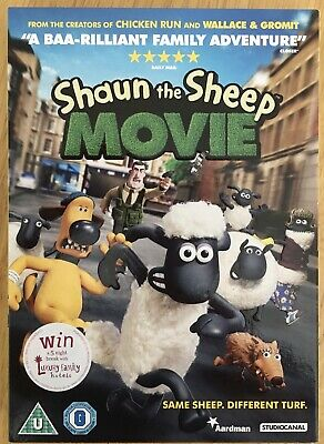 Shaun The Sheep Movie Dvd • 2£