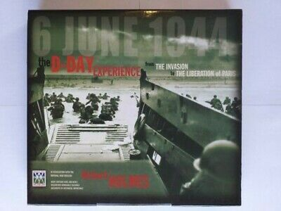 £10 • Buy The D-Day Experience Book By Richard Holmes IWM With Pull Out Maps And Documents
