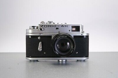Zorki 4k & Jupiter 8 50/2 35mm Film Camera.  • 14.99£