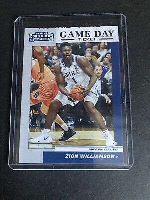 $3.25 • Buy 2019 Panini Contenders Zion Williamson Game Day Ticket #1 NM Or Better