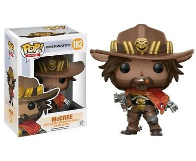 AU18.95 • Buy Overwatch McCree Pop! Vinyl Figure #182