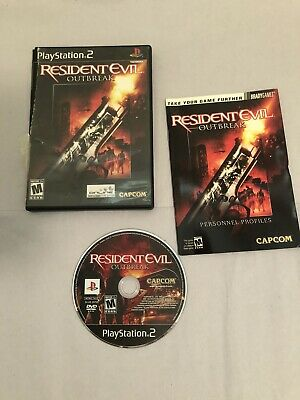 $16.99 • Buy Resident Evil: Outbreak (Sony PlayStation 2, 2004) PS2 Complete CIB