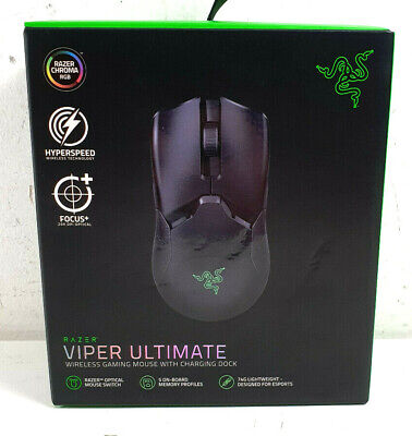 AU91 • Buy Razer Viper Ultimate Wireless Gaming Mouse Hyperspeed RGB - BRAND NEW