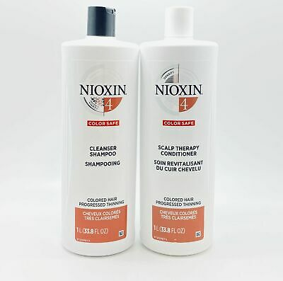 AU51.68 • Buy Nioxin System 4 Cleanser And Scalp Therapy Duo - 33.8 Oz Each