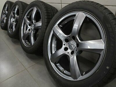 AU1621.38 • Buy 18 Inch Winter Tyres Mercedes Benz CLS W218 Rims A2184010102 Alloy Wheels