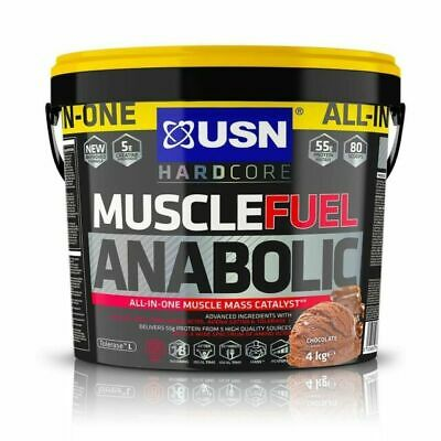 USN Muscle Fuel Anabolic Chocolate Shake Powder - 4kg • 45£