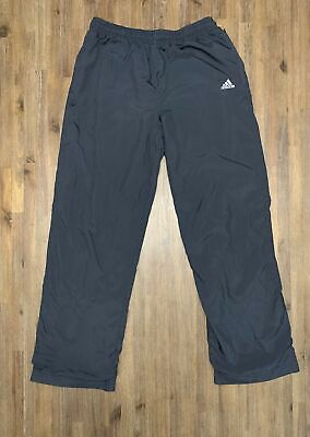 AU36.95 • Buy ADIDAS Size S Vintage Navy Blue Track Pant Women's