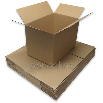 20 X LARGE Cardboard House Moving Boxes - Removal Packing Box *FREE DELIVERY* • 16.20£