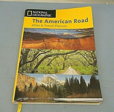 The American Road, An Atlas And Travel Planner By U. S. National Geographic... • 10.83£