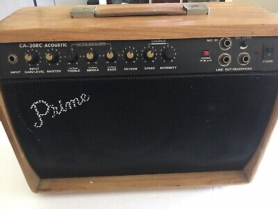 $ CDN183.54 • Buy Vintage Prime Ca-30rc. Acoustic Guitar Amplifier.  Powers On. No Sound.  Nice.