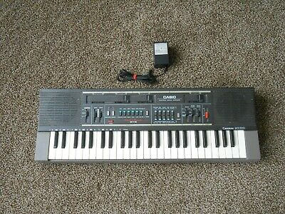 $49.99 • Buy Electronic Keyboard - CASIO - CASIOTONE - MT-210 - With Power Supply - RARE