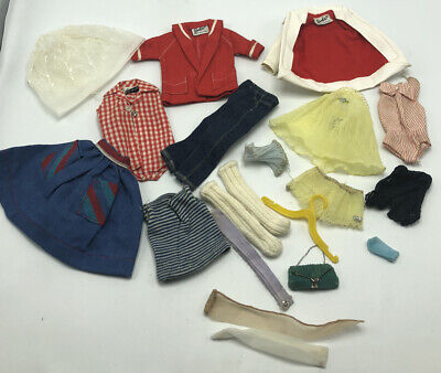 $ CDN54.07 • Buy Vintage 1960's Barbie Doll Clothes Lot Misc Doll Clothes