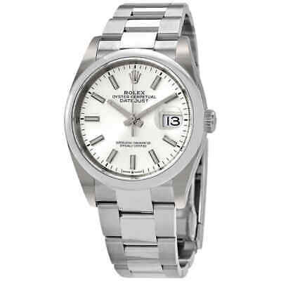 $ CDN9797.92 • Buy Rolex Datejust 36 Automatic Silver Dial Men's Oyster Watch 126200SSO