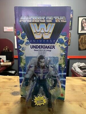 $45 • Buy WWE Masters Of The Universe The Undertaker Scare Glow MOTU Unpunch Card Rare
