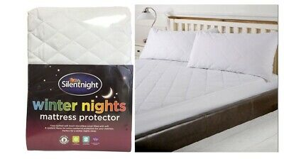 Mattress Protector Cosy Quilted Elastic & Full Cover Luxury Sleeping Easy Fit  • 8.99£