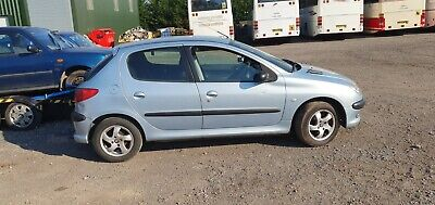 Peugeot 206 1.4 S 84k 1 Owner Drive Away Px To Clear Spares Or Repair No Mot  • 295£