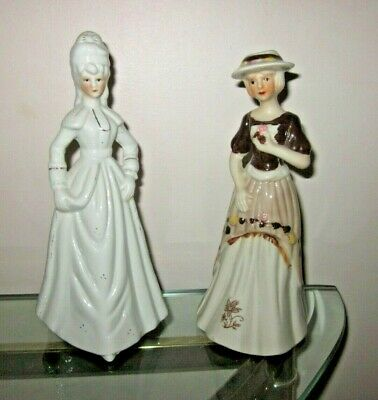 $ CDN0.99 • Buy A Pair Of Vintage Lady Angela Porcelain Hand Painted Figurines