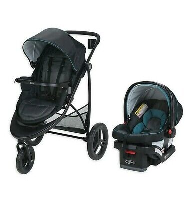 Graco Modes 3 Essentials LX Travel System In Sapphire Fashion  • 112.41£