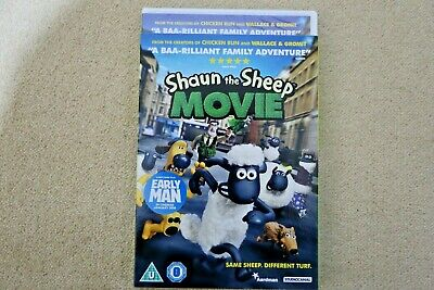 Shaun The Sheep Movie   Brand  New Sealed Genuine Uk  Dvd • 3.48£