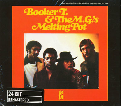 Booker T & The MGs - Melting Pot (REMASTERED) CD **BRAND NEW/STILL SEALED** • 20.95£