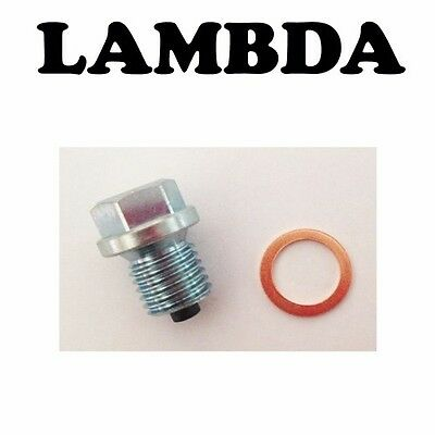 AU19.99 • Buy Magnetic Sump Plug & Washer For Yamaha BOP Chappy & RS100 RX80