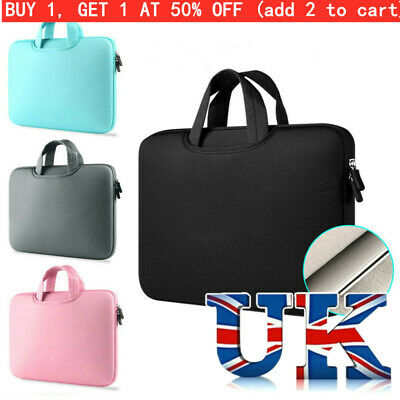 Laptop Bag Sleeve Case Cover For MacBook Air Pro HP Dell Lenovo 11 13 14 15 Inc! • 9.72£