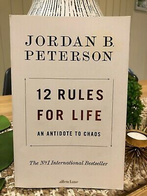 AU10 • Buy 12 Rules For Life: An Antidote To Chaos By Jordan B Peterson (English) Paperback