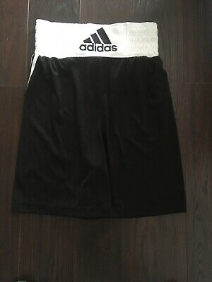 Adidas Boxing Shorts Extra Small Black And White • 1.20£