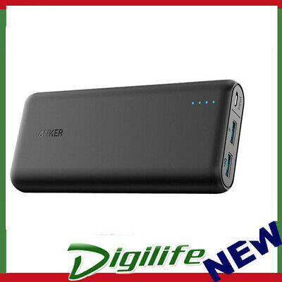 AU88.90 • Buy Anker Powercore Speed 20,000mAh USB Portable Power Bank QUICK CHARGE3.0 - Black