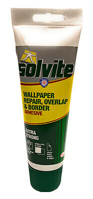 Solvite Wallpaper Repair Overlap And Border Adhesive Extra Strong And Permanent. • 7.49£