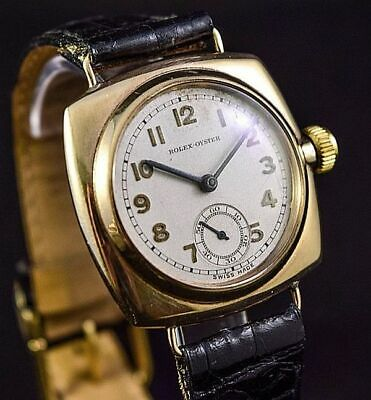 Rolex Early Oyster Extremely Rare 1920's Large Gold Case • 3,450£
