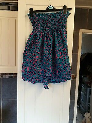 Papaya Bandeau Playsuit Size Large • 0.99£