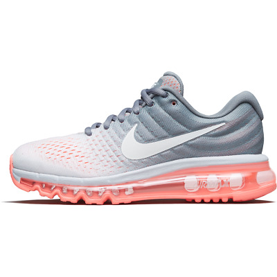 $99.33 • Buy Womens Nike Air Max 2017 849560-007 Pure Platinum/White-Cool Grey New Size 11