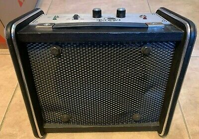 $ CDN127.53 • Buy The Mouse By Lectrosonics Guitar Amp Speaker Amplifier UNTESTED Parts Or Repair