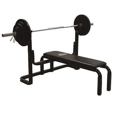 Adjustable Weight Bench ONLY With Adjustable Olympic Barbell Rack Bench Press UK • 339£