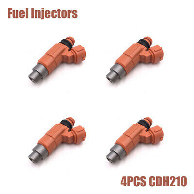 AU60.15 • Buy 4Pcs Flow Matched Fuel Injectors For Mitsubishi Lancer CE (4G93) 1.8L CDH-210 AU