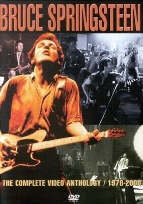 BRUCE SPRINGSTEEN THE COMPLETE VIDEO ANTHOLOGY 1978-2000 DVD (Released 2001) • 9.74£