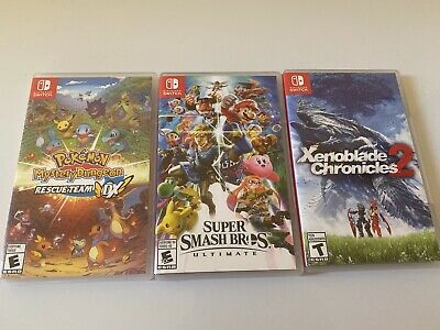 $66 • Buy Nintendo Switch Games Lot
