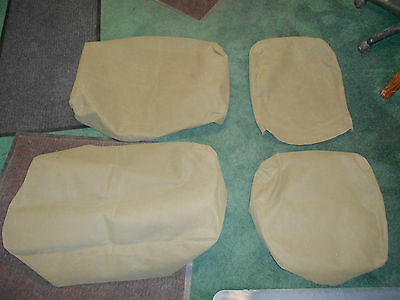 $225 • Buy Seat Cover Kit Canvas Military Driver And Pas Side M35A2 M800 M813 M109 USA Made