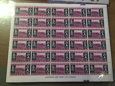 Z10 QEII Guernsey Mint Sheets Of Stamps Printed By Harrison  X 12 =360 Stamps • 0.99£
