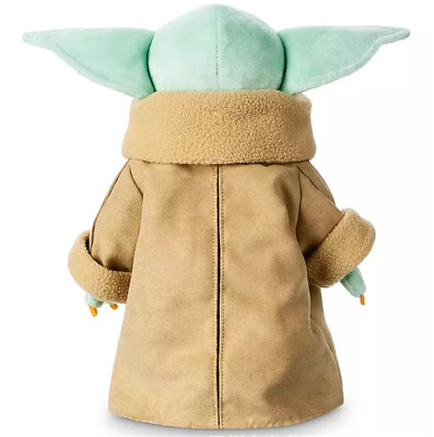 AU24.99 • Buy Toy Master For Kids Gift 30cm Yoda Plush Baby The Mandalorian Force Stuffed Doll