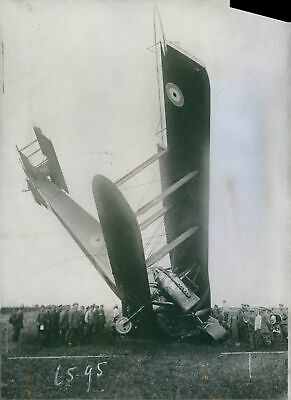 £5.68 • Buy Soldiers Visiting Crashed Aircraft. 1918 8x10 Photo