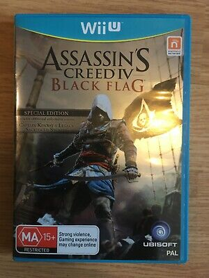 Assassin's Creed Black Flag Wii U, Used, Very Good Condition Special Edition  • 1.99£