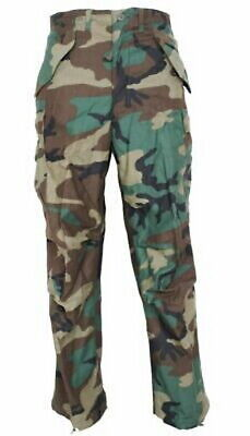 $29.99 • Buy Military Issued Woodland Cold Weather Trousers-NEW