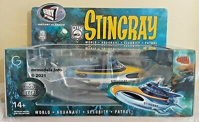 £159.95 • Buy Product Enterprise Stingray New Diecast Metal Model Boxed Gerry Anderson W.A.S.P