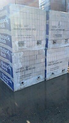 65m Ibstock Arden Weathered Grey Bricks @ £150 P/pack. Multiple Packs Avail • 150£