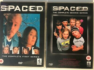 Spaced Season 1 And 2 (DVD) Simon Pegg *Fast Dispatch* • 4.75£
