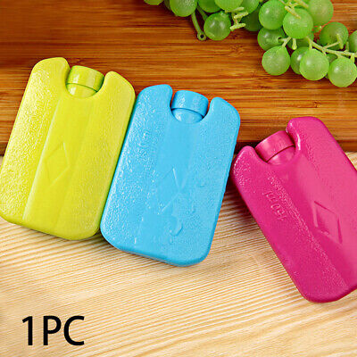 Ice Blocks For Coolers Camping Lunch Fresh And Cool Freezer Packs Bag Box • 5.15£